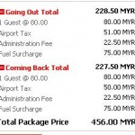 Airasia: Kuching- Singapore Finally